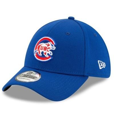 カブス キャップ ニューエラ New Era MLB 2021バッティングプラクティス 39THIRTY Flex Hat ロイヤル 21nrs