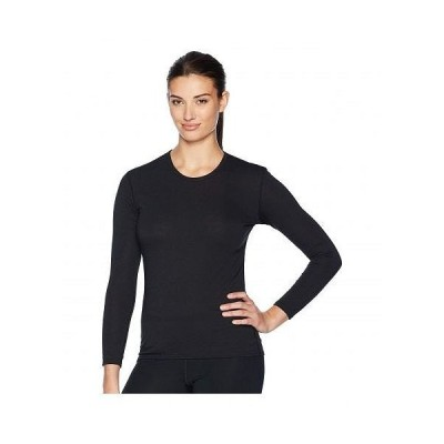 Hot Chillys ホットチリーズ レディース 女性用 ファッション アクティブシャツ Pepper Skins Crew Neck - Black