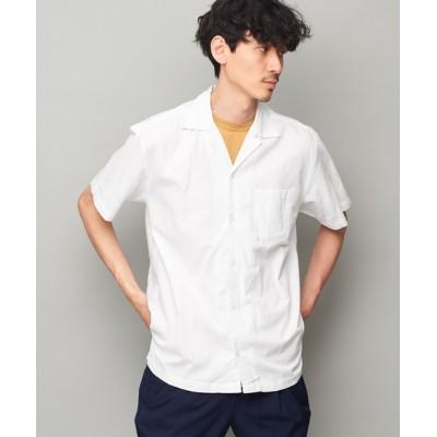 outlet/【Discoat Parisien】綿麻オープンカラー半袖シャツ