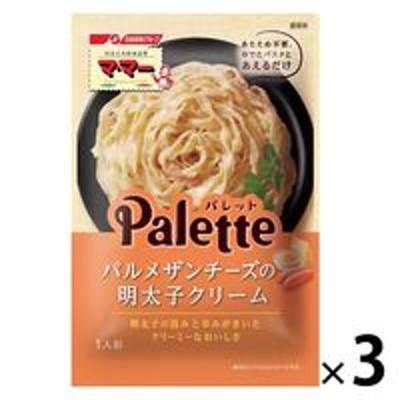 日清フーズ日清フーズ マ・マー Palette パルメザンチーズの明太子クリーム 60g 1セット(3個)