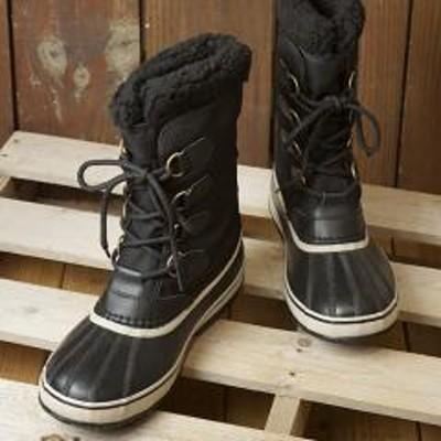 SOREL【SALE】送料無料 ソレル SOREL メンズ 1964 パックナイロン 1964 PAC NYLON メンズ・レディース スノーブーツ ウィンター アウトドア 防寒靴 BLACK/ANSIENT FOSSILブラック系 (NM3487-011 FW19)