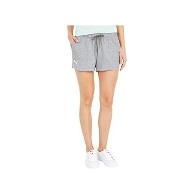 プーマ Stay Bold Shorts レディース ショートパンツ ズボン 半ズボン Medium Gray Heather/Puma White