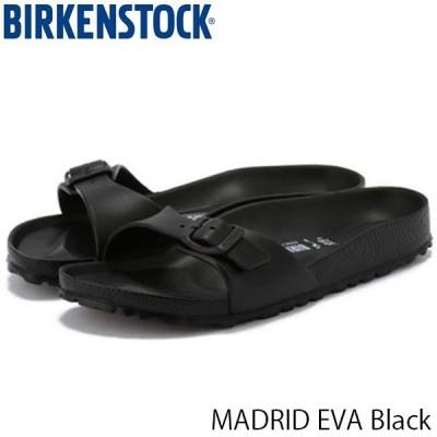 ビルケンシュトック サンダル レディース マドリッド MADRID EVA 旅行 おしゃれ ブラック 歩きやすい 幅狭 ナロー 女性用 BIRKENSTOCK GE128163 国内正規品
