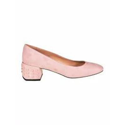 Tods レディースシューズ Tods Studded Heel Pumps Pink