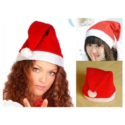 サンタ 帽子 クリスマス 男女兼用 大人 子供 イベント 小道具 仮装 コスプレ コスチューム A021