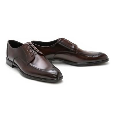 ビジネスシューズ 本革 Uチップ ドレス メンズ 革靴 本革 ビジネスシューズ クインクラシコ QueenClassico ドレスシューズ 紳士靴 18003dbr ダークブラウン