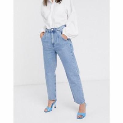 ウィークデイ Weekday レディース ジーンズ・デニム ボトムス・パンツ Frame relaxed fit cocoon jean in pen blue