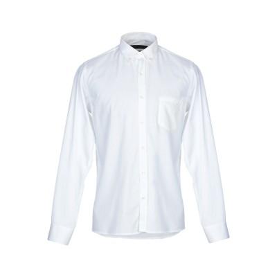 LABORATORI ITALIANI シャツ ホワイト L コットン 100% シャツ