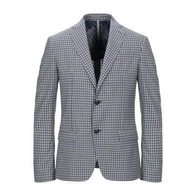 アレッサンドロデラクア ALESSANDRO DELL'ACQUA テーラードジャケット ブルーグレー 50 ウール 100% テーラードジャケット