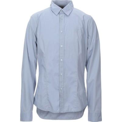 ゲス GUESS メンズ シャツ トップス solid color shirt Sky blue
