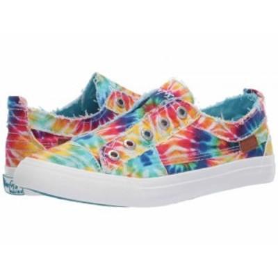 Blowfish ブローフィッシュ レディース 女性用 シューズ 靴 スニーカー 運動靴 Play Rainbow Tie-Dye Canvas【送料無料】