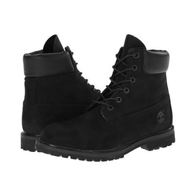"""ティンバーランド ブーツ&レインブーツ レディース 6"""" Premium Boot Black Nubuck"""