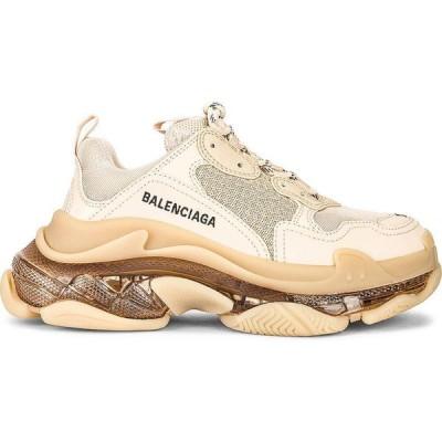 バレンシアガ Balenciaga レディース スニーカー シューズ・靴 triple s clear sole sneakers Nude