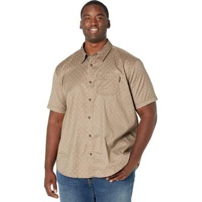 ティンバーランド Timberland PRO メンズ 半袖シャツ トップス Extended Amesbury Short Sleeve Work Shirt Walnut/Arrow Print