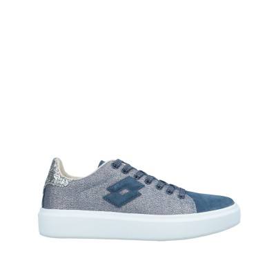 LOTTO LEGGENDA スニーカー&テニスシューズ(ローカット) ブルー 36 紡績繊維 / 革 スニーカー&テニスシューズ(ローカット)