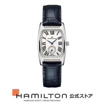 ハミルトン 公式 腕時計 HAMILTON  アメリカンクラシック ボルトン スモールセコンド クオーツ 27.30MM レザーベルト H13421611 男性 正規品