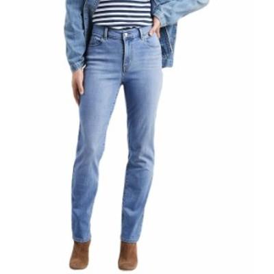 リーバイス レディース デニムパンツ ボトムス Classic Straight Jeans Slate Afternoon