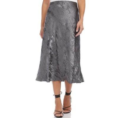 カレンケーン レディース スカート ボトムス Bias Cut Metallic Midi Skirt