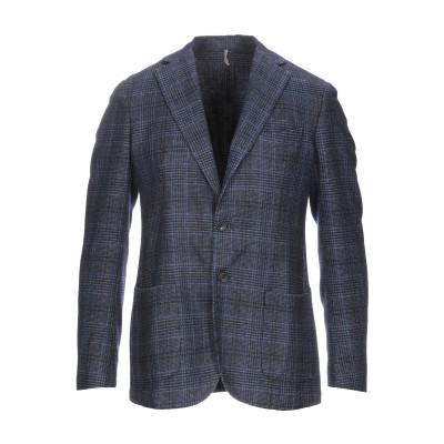 I CAPRESI テーラードジャケット ダークブルー 48 ウール 67% / ポリエステル 23% / ナイロン 10% テーラードジャケット