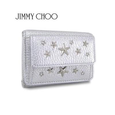 ジミーチュウ JIMMY CHOO レディース 3つ折財布 NEMO WDS/SILVER/シルバー/セール