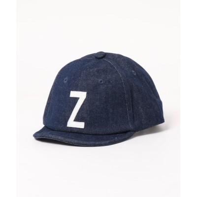 babybaby / 【GRIN BUDDY / グリンバディ】キッズ デニムアルファベットキャップ/AtoZ Sim Logo Cap KIDS 帽子 > キャップ
