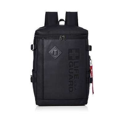 ライフガード Dパック スクエア ロゴ 合皮 2LG1630DP G1630DPBK/BK ブラック/ブラック