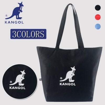 KANGOL カンゴール 男女兼用 ファション トートバッグ ショッピングバッグ ロゴバッグ カンゴール バッグ 大容量 送料無料