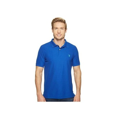 U.S. POLO ASSN. Ultimate Pique Polo Shirt メンズ シャツ トップス Blue Raft