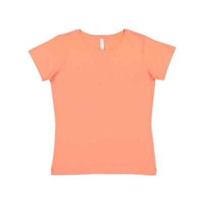 レディース 衣類 トップス Women's Fine Jersey Tee LAT Tシャツ