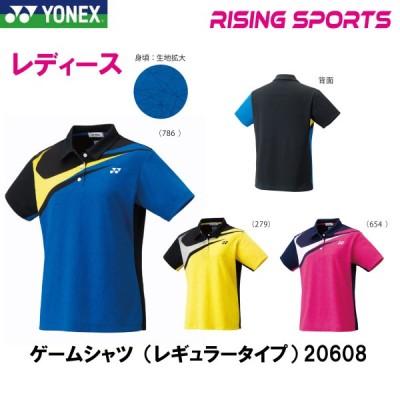ヨネックス ゲームシャツ(レギュラータイプ) レディース 20608