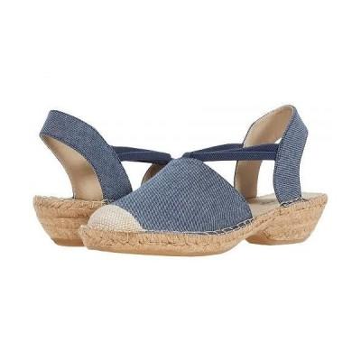 Rialto リアルト レディース 女性用 シューズ 靴 ヒール Crest - Denim Fabric