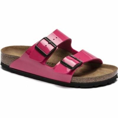 ビルケンシュトック Birkenstock レディース サンダル・ミュール シューズ・靴 arizona sandals Patent Fuchsia Tulip Birko Flor