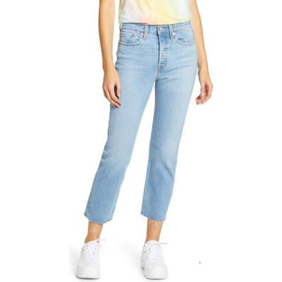 リーバイス LEVI'S レディース ジーンズ・デニム ボトムス・パンツ Wedgie High Waist Raw Hem Straight Leg Jeans Tango Hustle