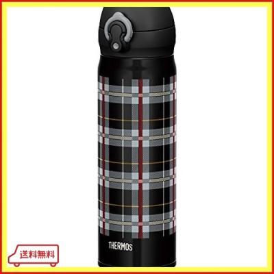 サーモス 水筒 真空断熱ケータイマグ 【ワンタッチオープンタイプ】 500ml ブラックチェック JNL-502G BKC