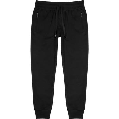 ドルチェ&ガッバーナ Dolce & Gabbana メンズ スウェット・ジャージ ボトムス・パンツ black cotton sweatpants Black