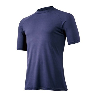 MIZUNO ミズノ アンダーウェア 丸首・半袖 14:ネイビー 野球 アンダーシャツ ベースボール 12JA5P30 14