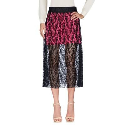 FOLLOW US 7分丈スカート フューシャ S コットン 55% / ナイロン 45% 7分丈スカート