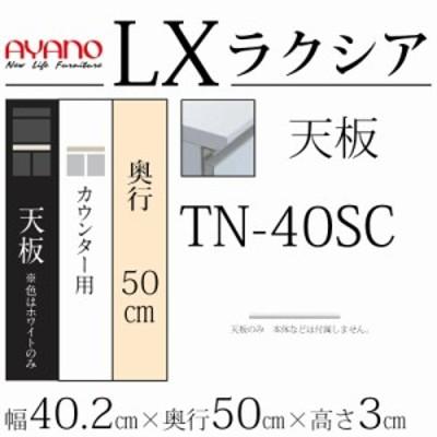 綾野製作所 LX ラクシア TN-40SC 天板 (カウンター用) 【幅40.2×奥行50×高さ3
