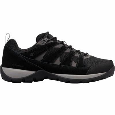 コロンビア メンズ スニーカー シューズ Redmond V2 WP Hiking Shoe Black/Dark Grey