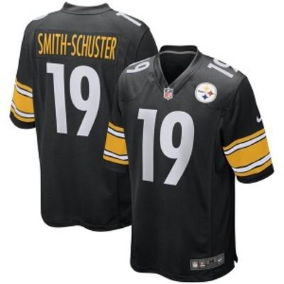 ナイキ メンズ Tシャツ トップス JuJu Smith-Schuster Pittsburgh Steelers Nike Game Jersey