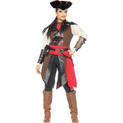 アサシンクリード コスプレ アヴリーン パイレーツ 海賊 大人 コスチューム 衣装 ハロウィン 仮装 アサシン クリード III