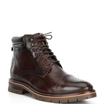 ジョンストンアンドマーフィー メンズ ブーツ・レインブーツ シューズ Men's Cody Cap Toe Boots