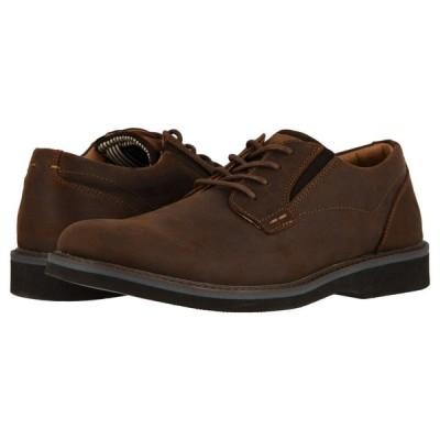 ナンブッシュ Nunn Bush メンズ 革靴・ビジネスシューズ シューズ・靴 Barklay Plain Toe Oxford Brown Crazy Horse