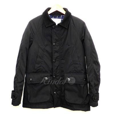 nano universe 西川ダウン ハンティングダウンジャケット ブラック サイズ:S (明石店) 201012