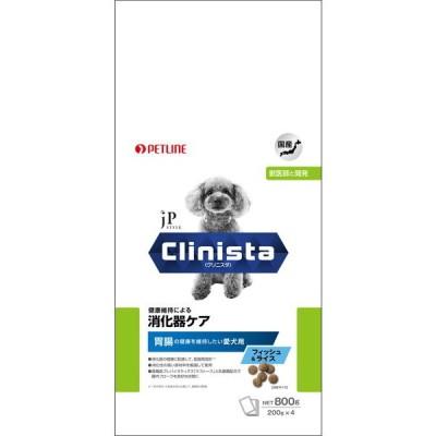 ジェーピースタイル Clinista 消化器ケア 胃腸の健康を維持したい愛犬用 フィッシュ&ライス 800g