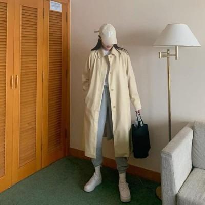 WONLOG レディース コート Naglang Trench Coat