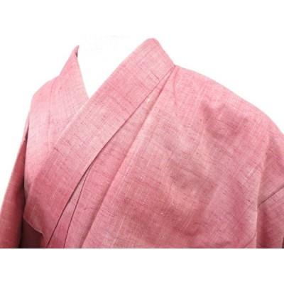 宗sou 紬 暈し文 着物【リサイクル】【着】