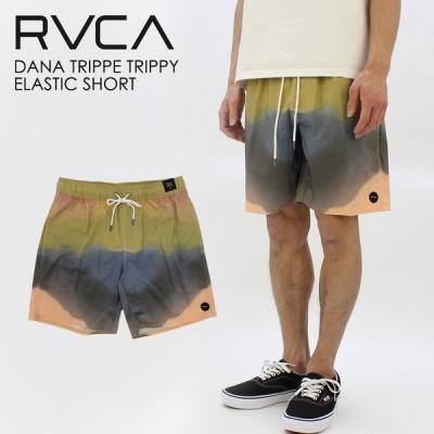 ルーカ RVCA  DANA TRIPPE TRIPPY ELASTIC SHORT メンズ ウォークパンツ ショートパンツ BB041-615   ハーフパンツ ボトムス [AA]