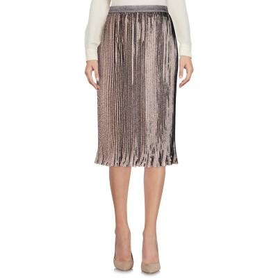 パトリツィア ペペ PATRIZIA PEPE 7分丈スカート ベージュ 40 ポリエステル 100% 7分丈スカート