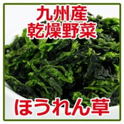 乾燥野菜 ほうれん草 95g  国産 九州産